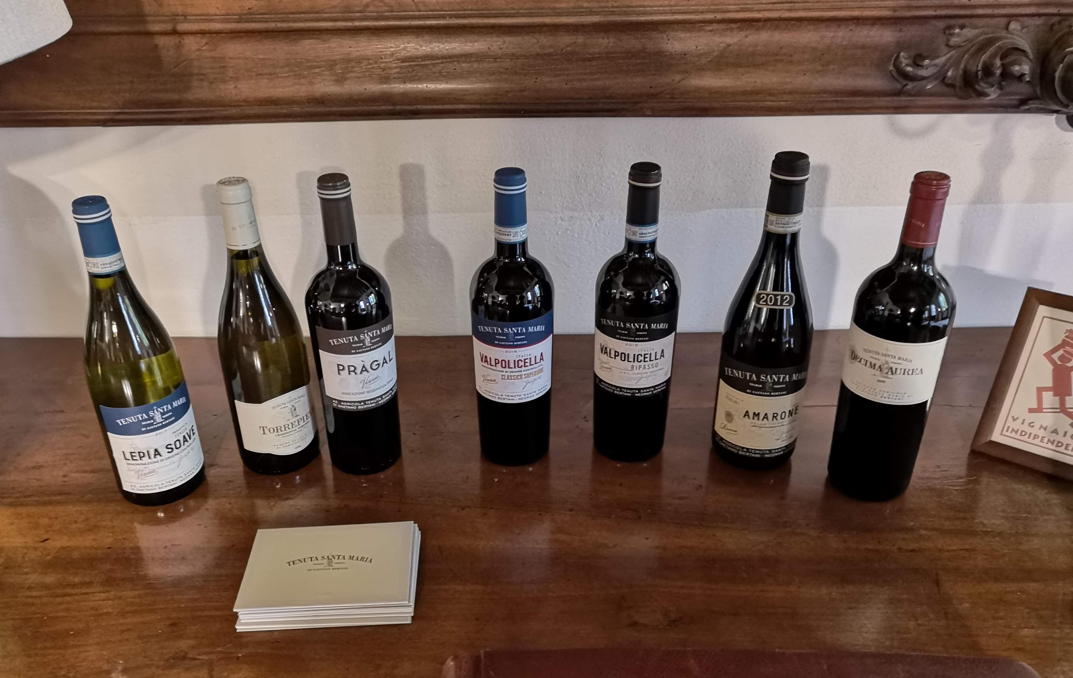 Družina vin s posestva Villa Mosconi Bertani