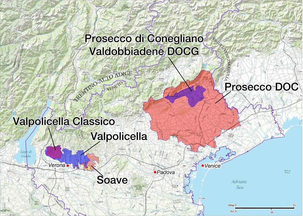Valpolicella in Prosecco